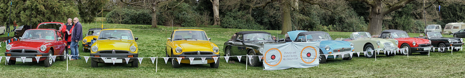 The Potteries and South Cheshire MG Owners Club